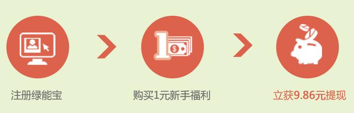 绿能宝-投资1元赚9.86元